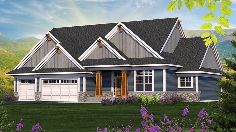 Home plan homepw77589 2154 square foot 3 bedroom 2 for Www homeplans com