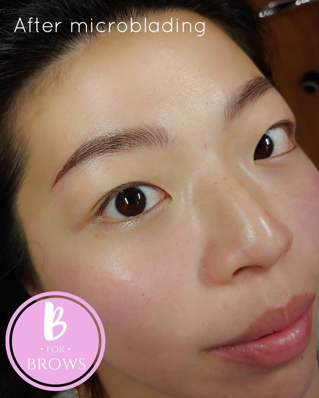 Asian Brows : asian, brows, Microblading, Brown, Asian, Eyebrows,