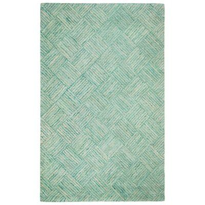 Bay Isle Home Millia Hand Tufted Cotton Green Area Rug Rug Size Rectangle 5 X 8 In 2020 Colorful Rugs Beige Area Rugs Area Rugs