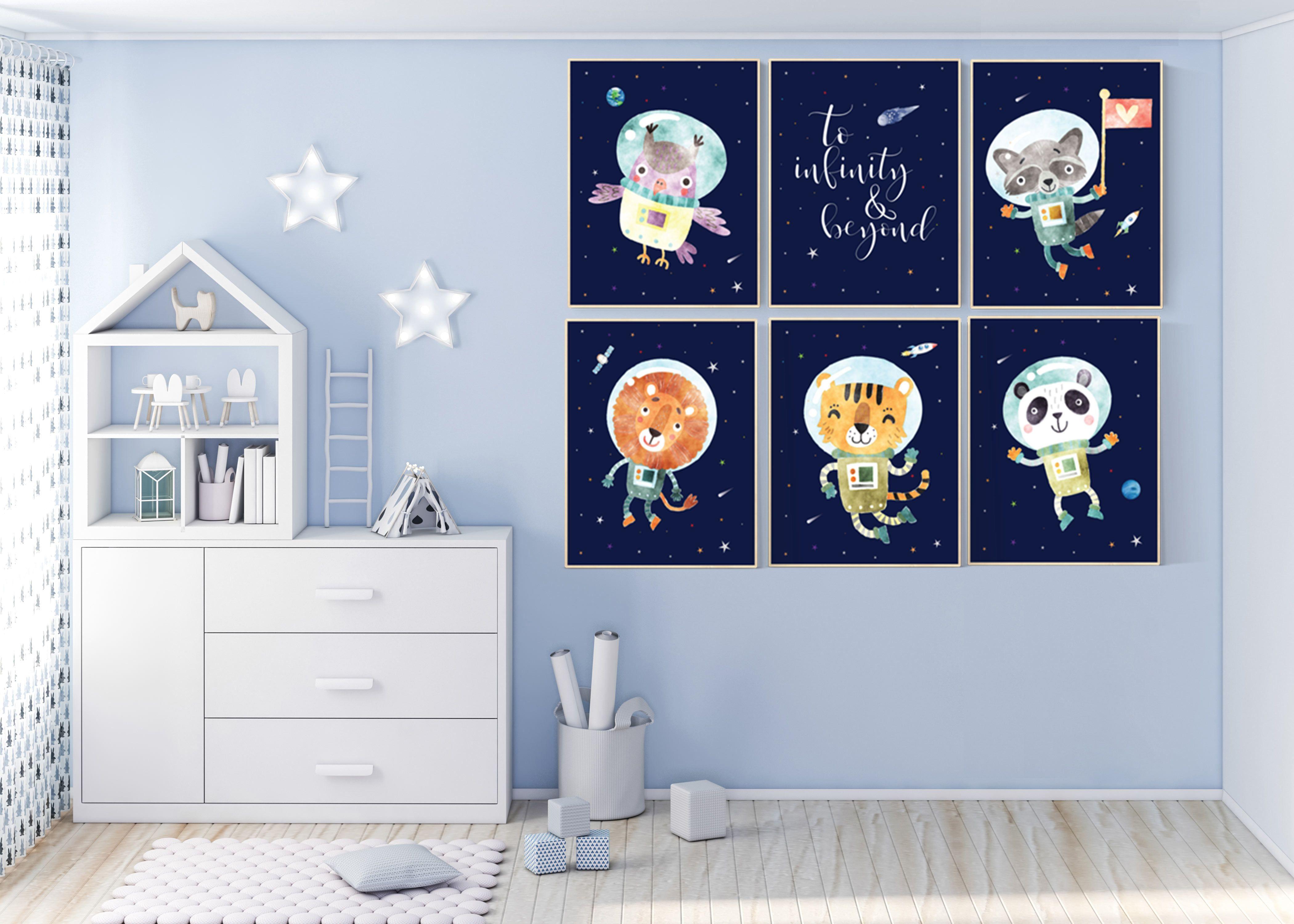 Nursery Decor Boy Space Nursery Prints Space Space Themed Etsy Outer Space Nursery Space Themed Nursery Nursery Decor Boy