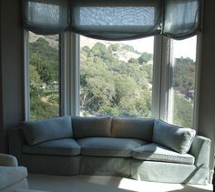 Curved Sofa For Bay Window   Google Search