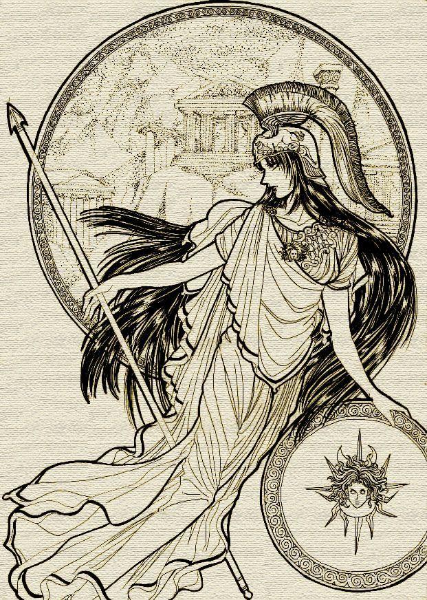 Pin By Jacob D Hostetler M F A On Artwork I Like Athena