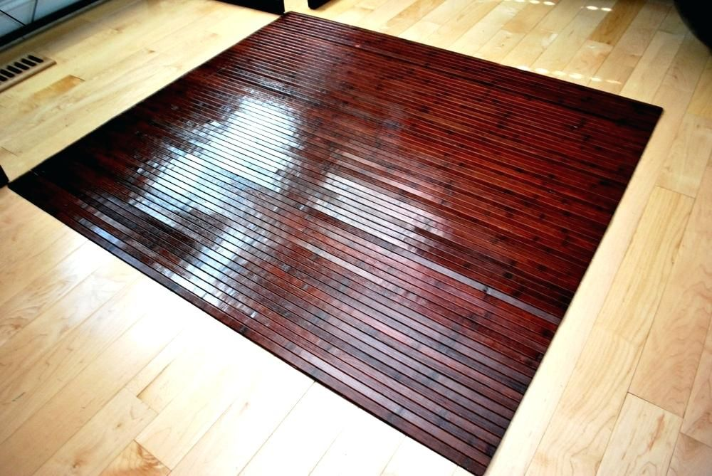 What is the Kitchen Floor Mat in 2020 Bamboo chair