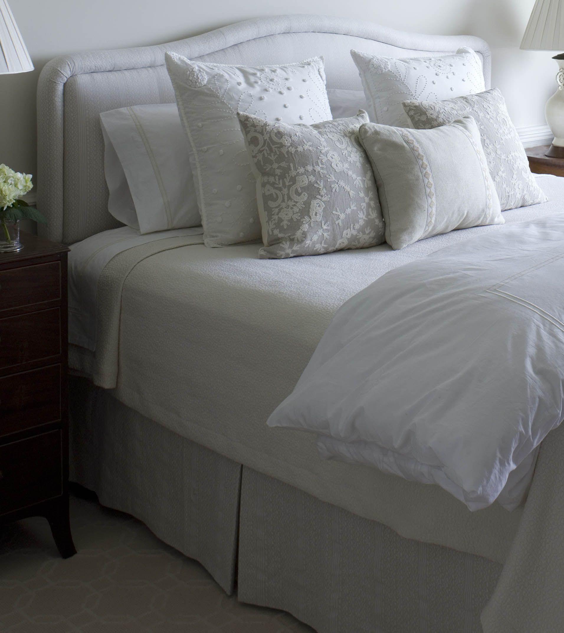 Upholstered Headboards Tips From Phoebe Howard I Prefer Fairly Simple Shapes For Upholstered Bedroom Inspiration Board Bedroom Headboard Upholstered Headboard