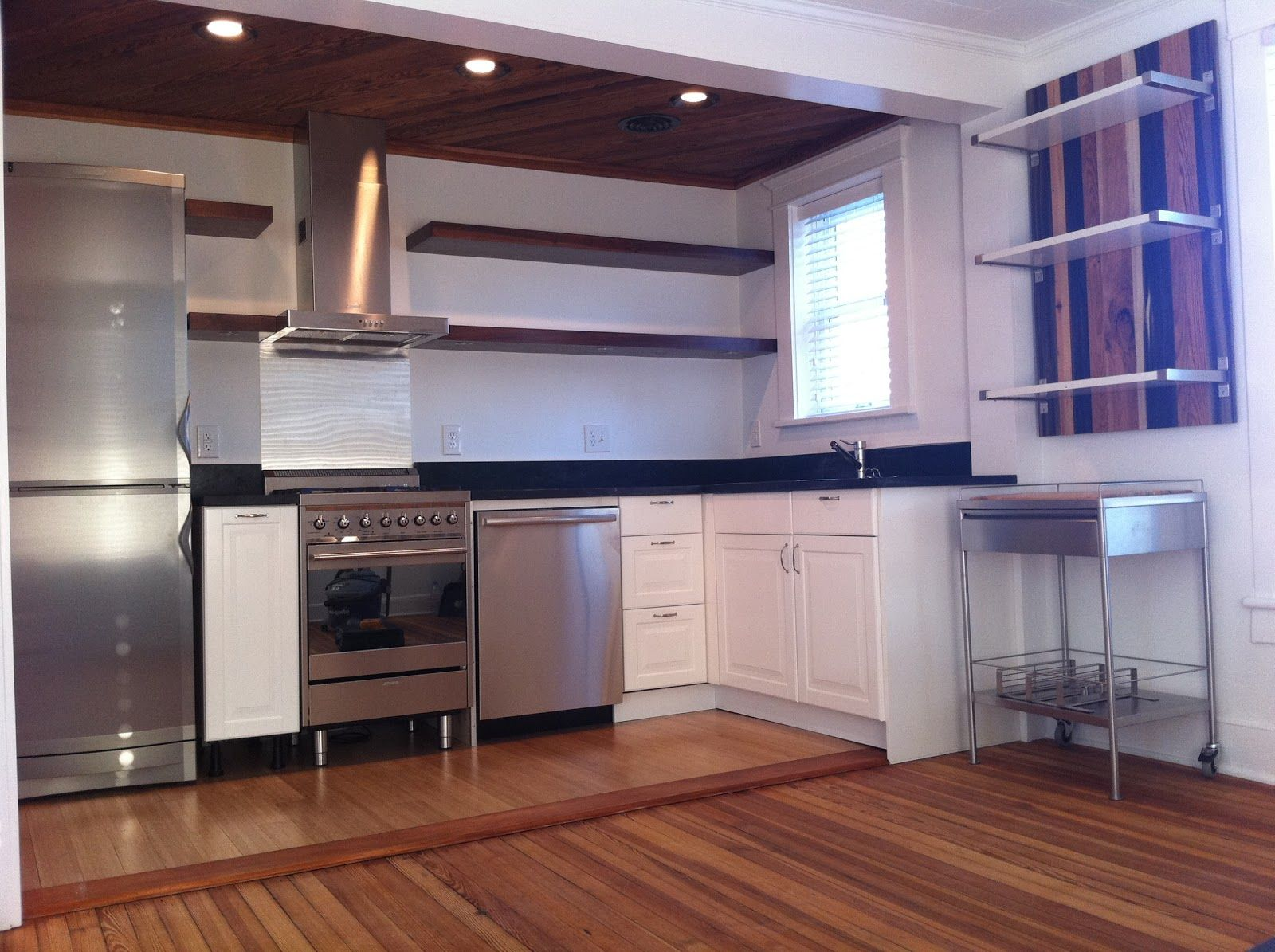 Build Simple Floating Kitchen Shelves In 2020 Kitchen Cabinets For Sale Metal Kitchen Cabinets Used Kitchen Cabinets