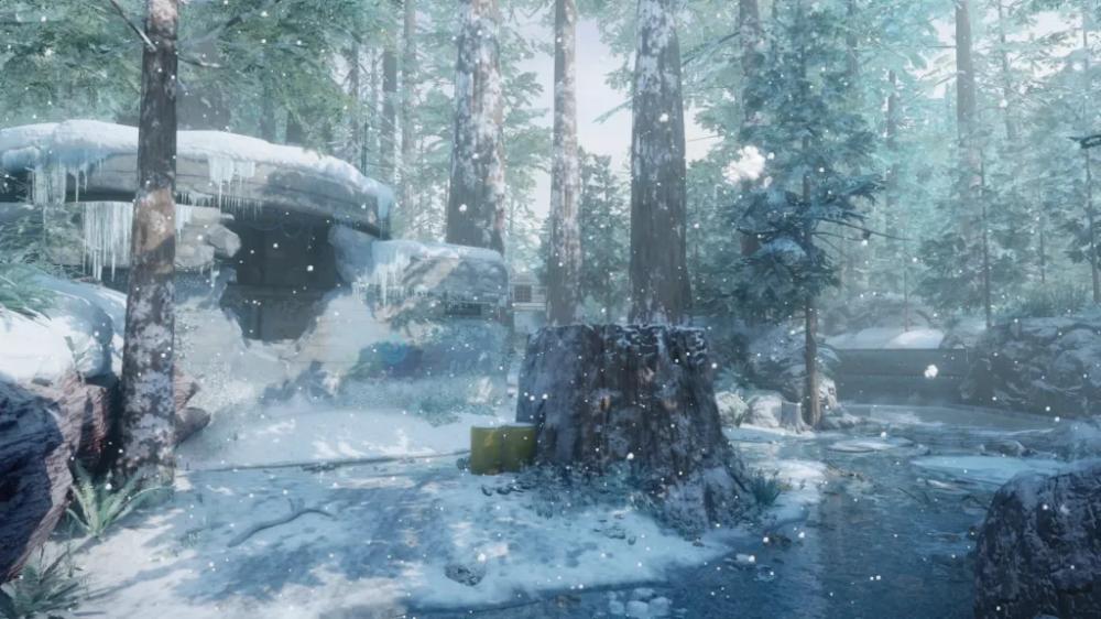 Redwood Snow Black Ops 3 Call Of Duty Maps Blackops3 Bops3