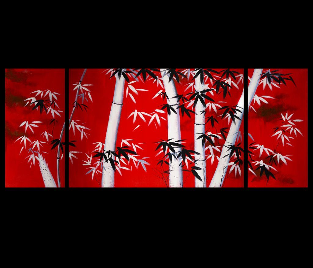 Wall Art Ideas Design Foremost Anese Canvas Samplce Clic Themes Remarkable Red Combination
