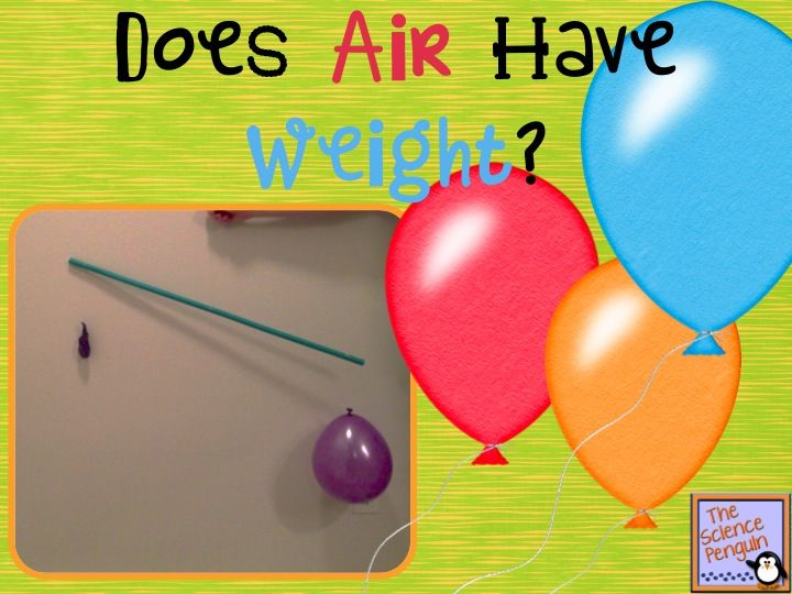 I want to share a fun idea for demonstrating that air has weight. This is a great activity to use with your matter unit. In this activity, you create a balance with a balloon on each end. Then, students will see that a balloon with air in it moves closer to the ground while the …