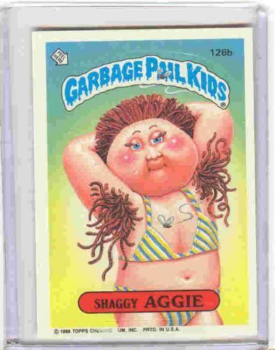 3 Garbage Pail Kid Pits Hair Garbage Pail Kids Garbage Pail Kids Cards Old School Candy