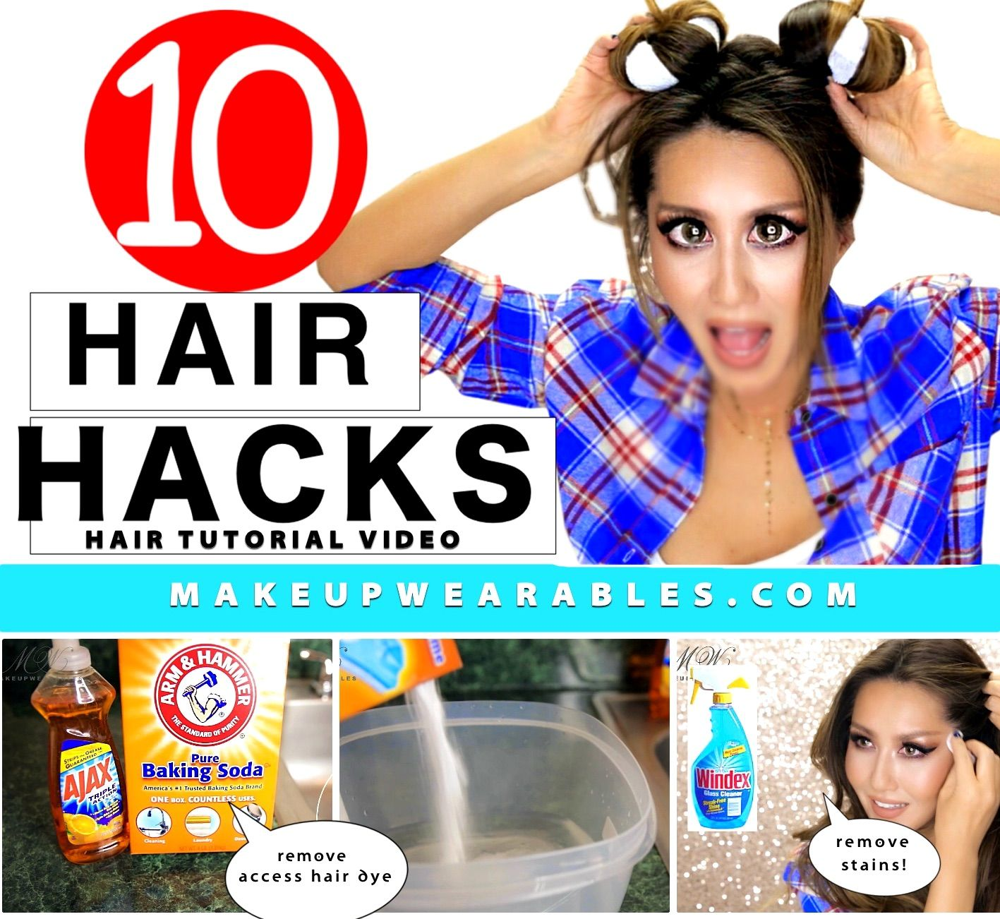 Simple Diy Hairstyles Everyday: 10 Everyday HAIR HACKS & Hairstyles Every Girl Should Know