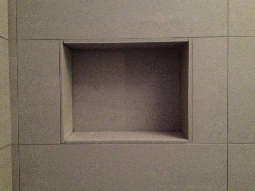 Recessed Shelves Bathroom Shower Shelf Recess Home Bathroom Pinterest Showers Shower