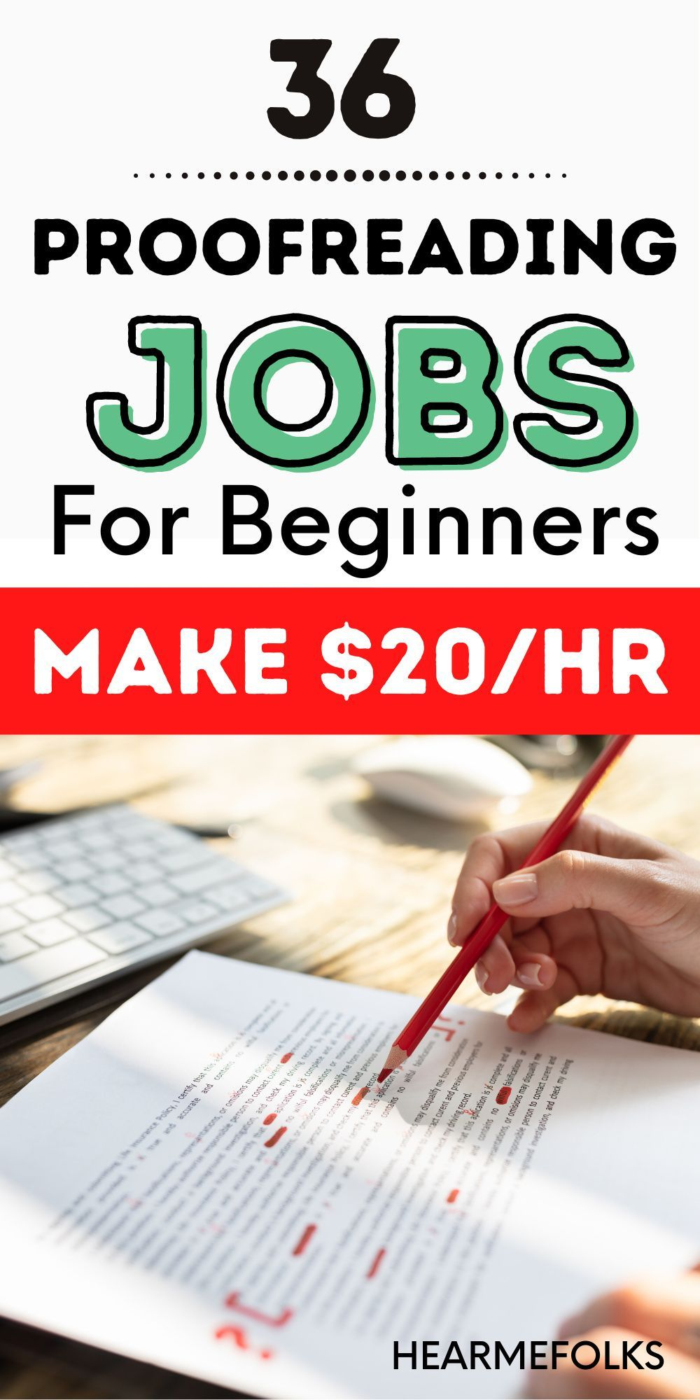 36 Online Proofreading Jobs for Beginners [+$50K/year ...