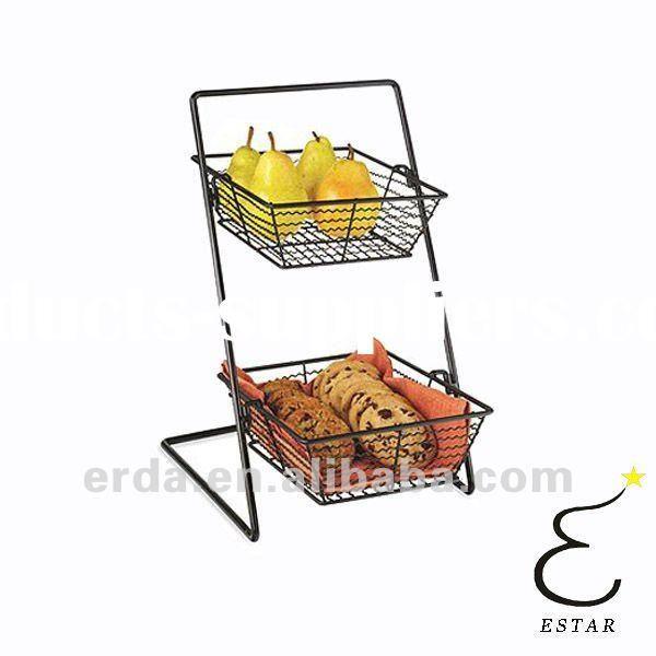 metal tiered tabletop display rack | Tier Metal Display Stand, 10 ...