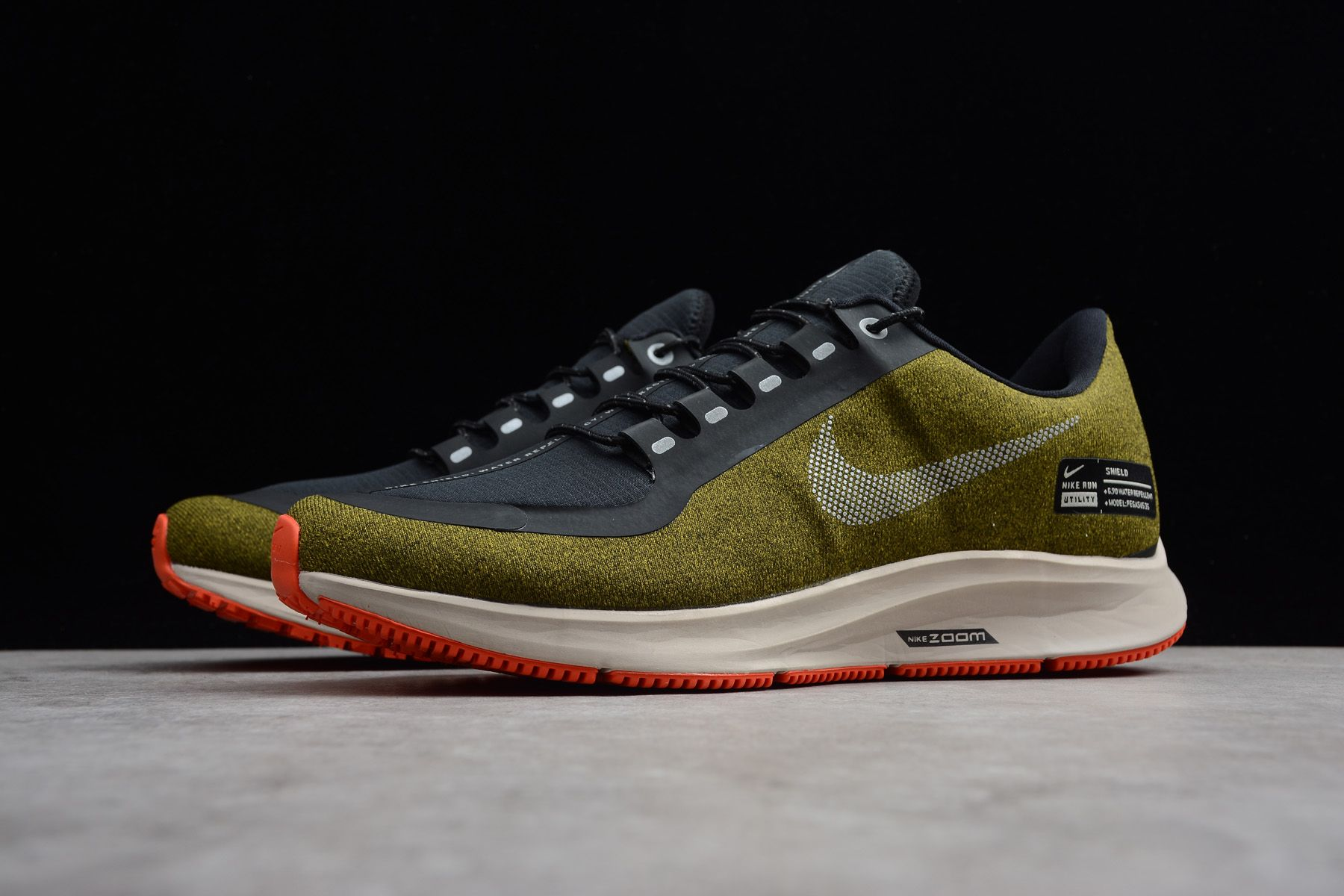 Nike Air ZM Pegasus 35 Shield Olive FlakMetallic Silver