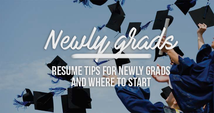 Where to start as a newly grad? Some are some starter tips and how to built your impacful resume.