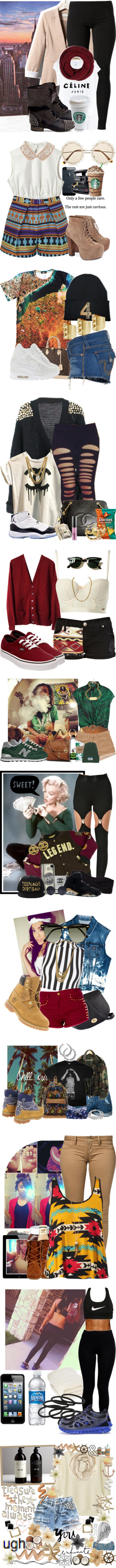 """""""F#ck That Fake Shit I Don't Need No Friends"""" by indigow99 ❤ liked on Polyvore"""