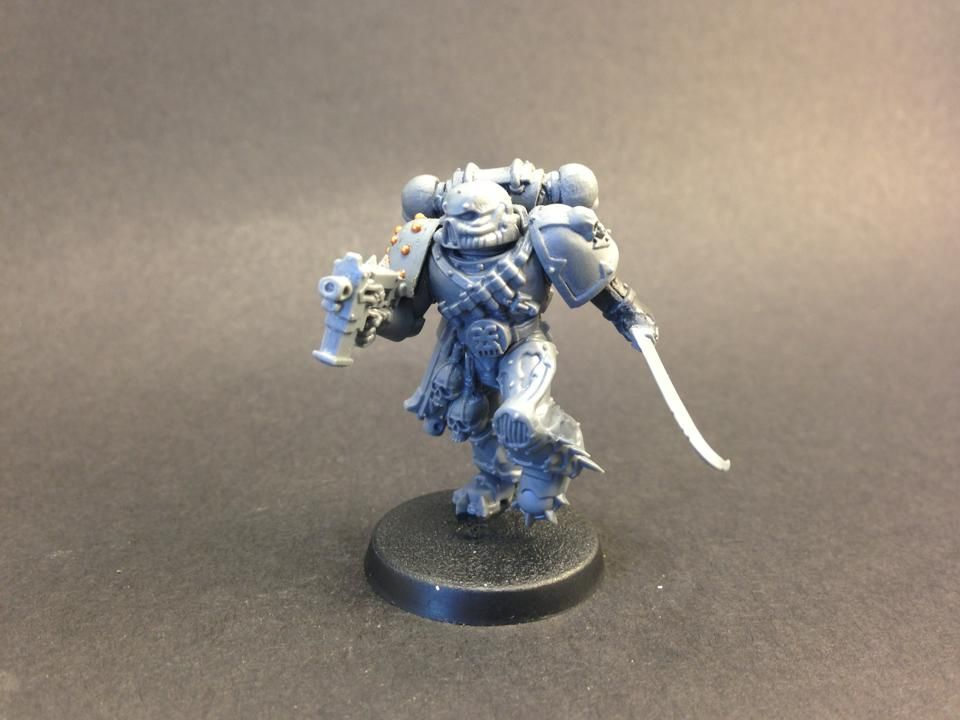 a rich collection of parts from a number of different models adds up to a great conversion.