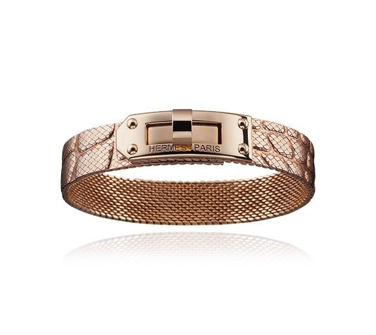 Kelly Hermes bracelet in rose gold MM size small Wrist