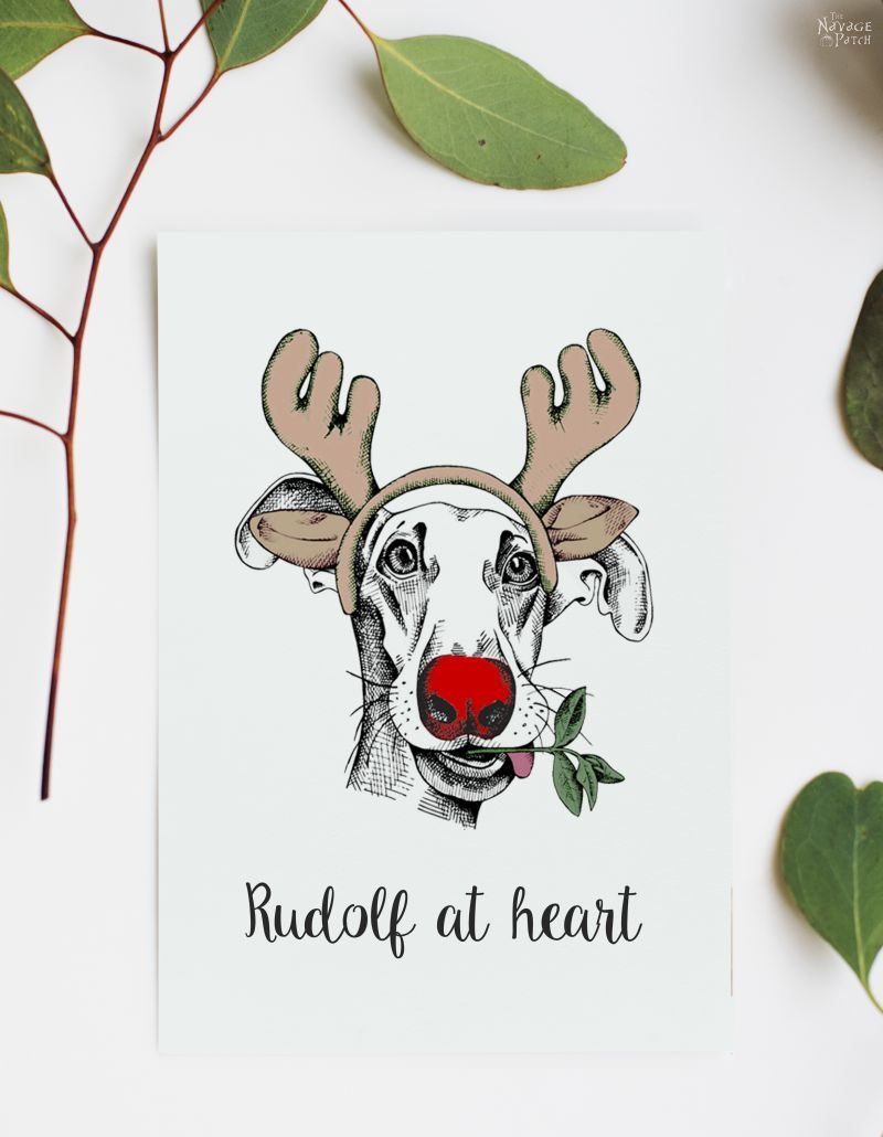 Beautiful Free Watercolor Christmas Printables Watercolor