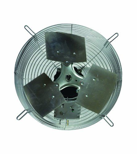 20 Wall Mount Industrial Exhaust Fan Ventilator Green House Garage Air Shutter Outdoor Shutters Aluminum Shutters Exhaust Fan