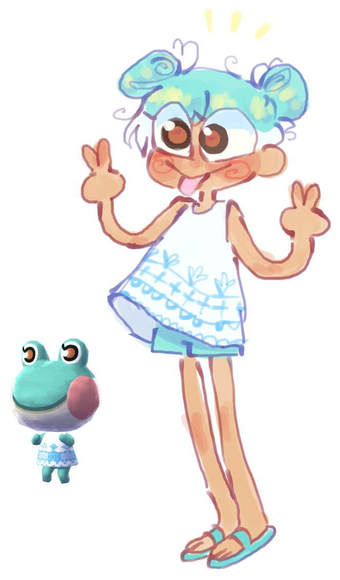 Lilyy By Sheep Kinta Animal Crossing Fan Art Animal Crossing