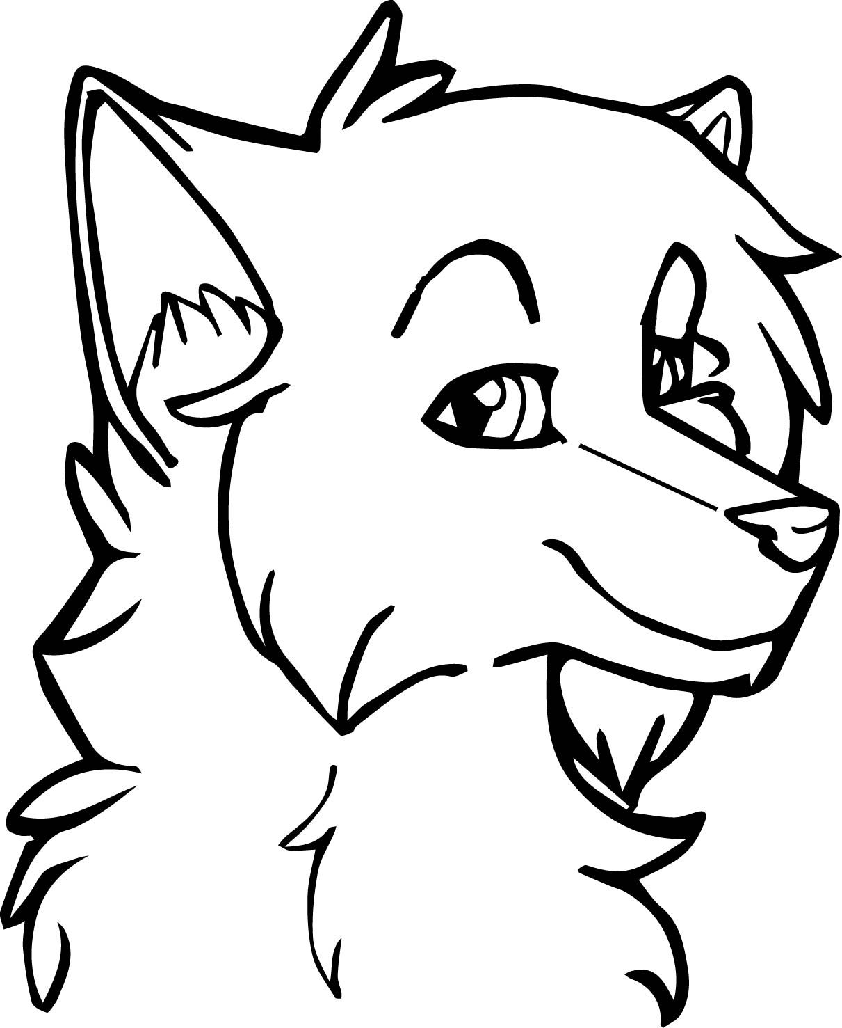 Colouring in pages wolf - Cool Female Wolf Coloring Pages Check More At Http Wecoloringpage Com