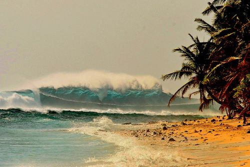 Summer All Year Long Surfing Cocos Keeling Islands Big Wave Surfing