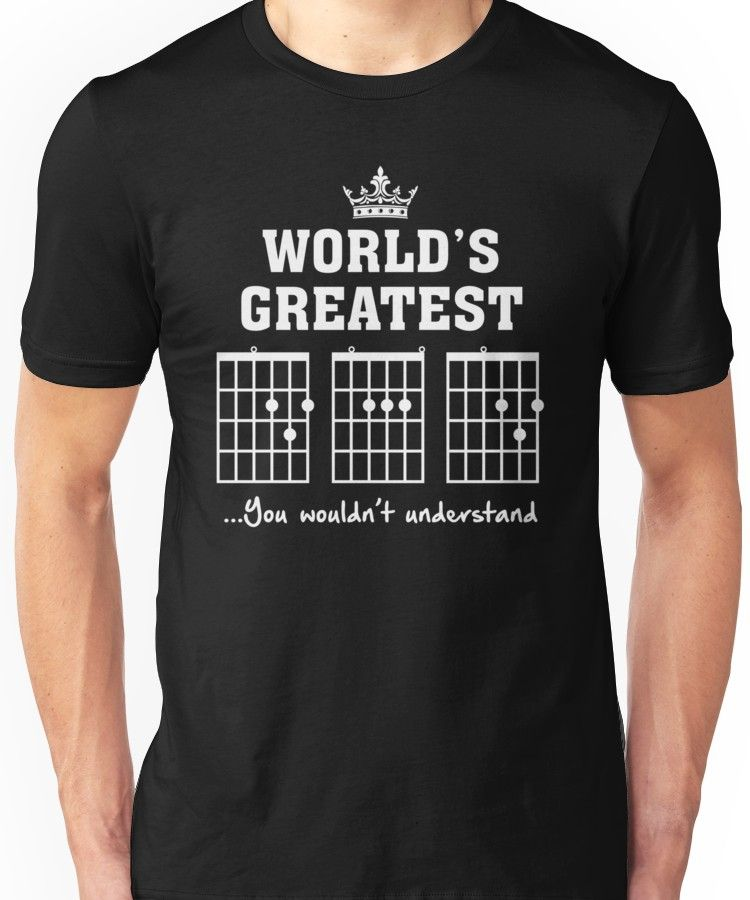 F chord dad funny guitar tee unique fathers day gift