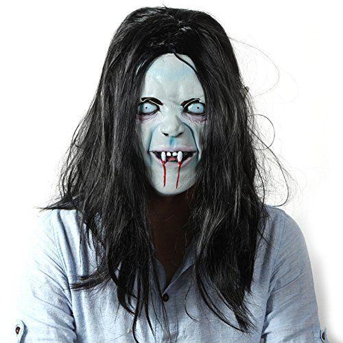Phantom Mask/Halloween Horror Mask Ball/Whole person horror latex headgear-A