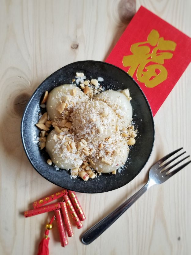 Sweet Sticky Rice Balls (For Lunar New Year) 糖不甩 | Sweet ...