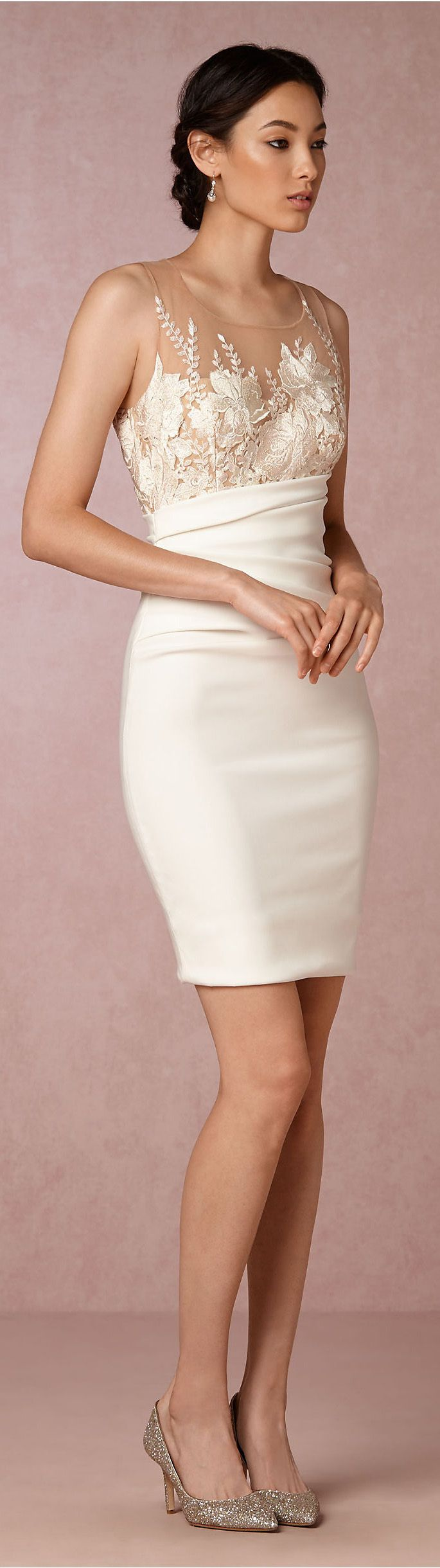 Beverly Dress in White | PARTY DRESSES | Pinterest