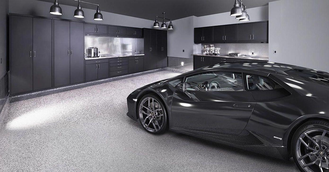 A Garage Workbench Is A Vital Piece Of Devices In Any Home Workshop A Workbench Will Permit You To Complete J Underground Garage Garage Design Garage Interior