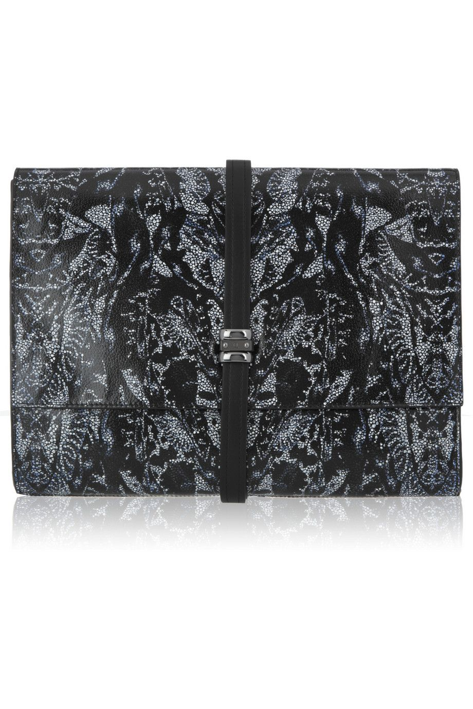 Alexander McQueen - leather clutch