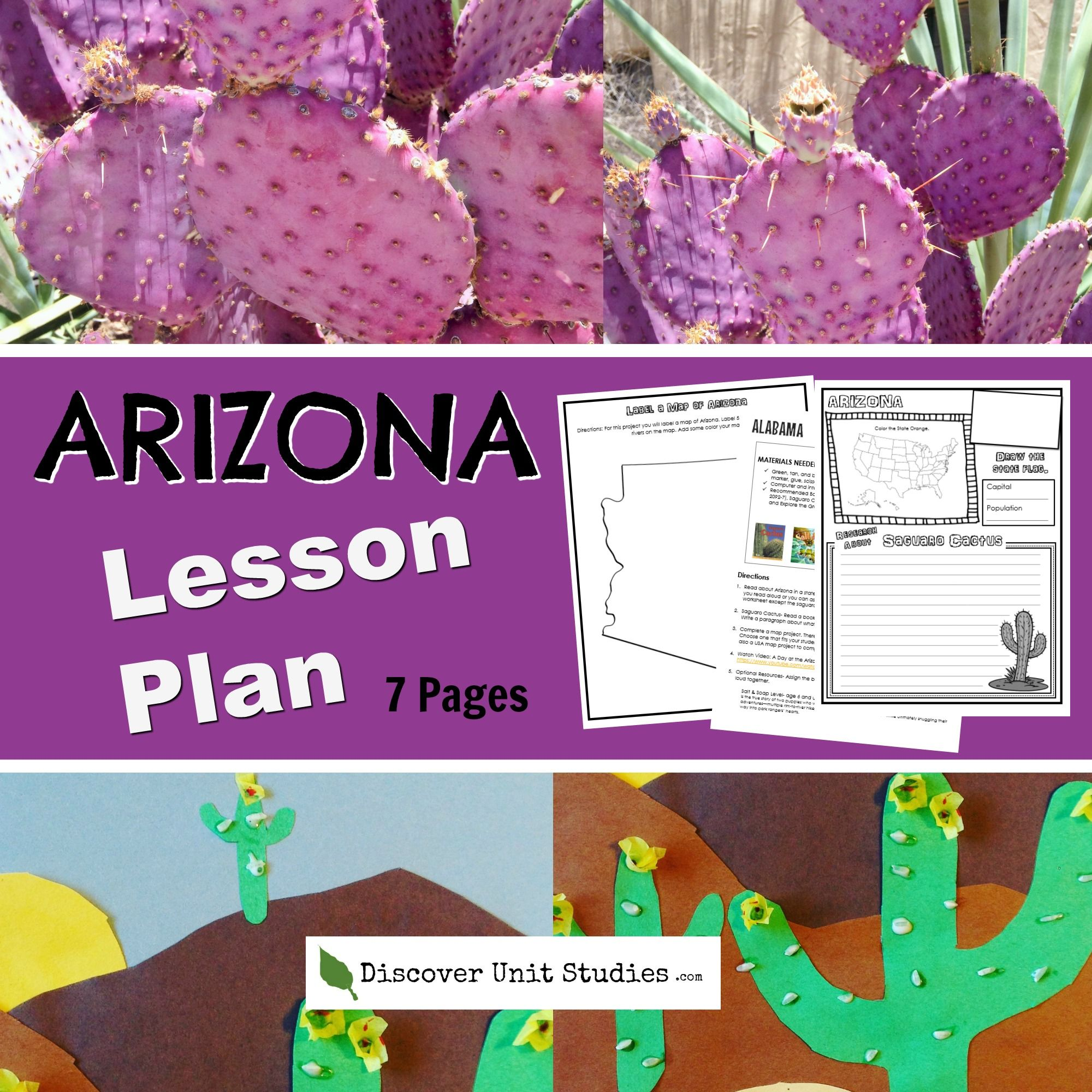 Learn About Arizona With This 7 Page Download Inside You