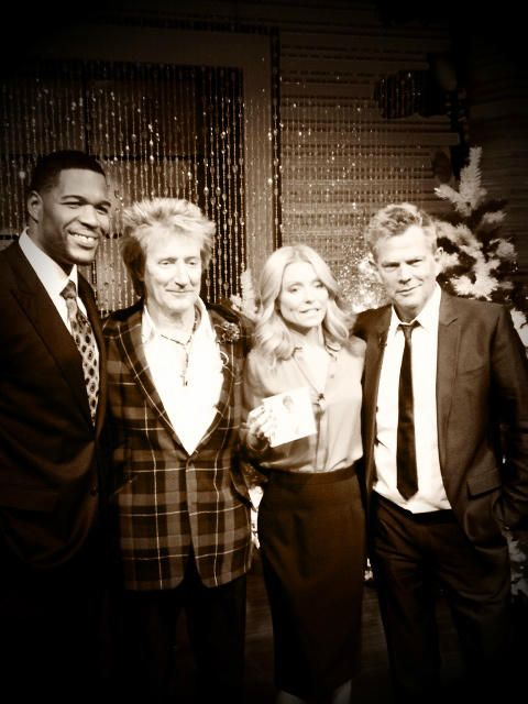Live With Kelly And Michael Rod Stewart Queen Birthday The Fosters