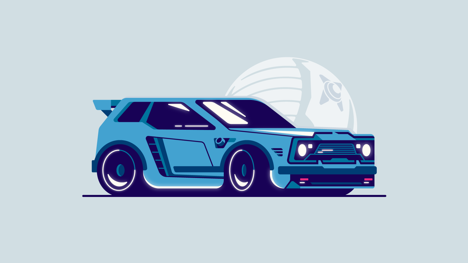 I'm designing a series of Rocket League cars in