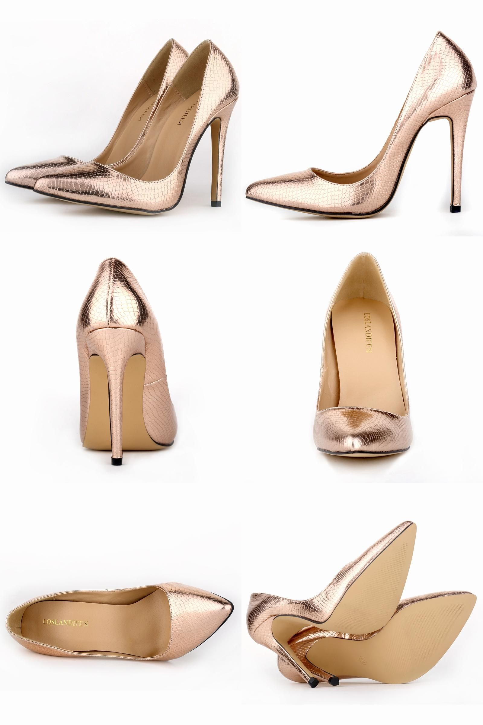 e47bc637afd9  Visit to Buy  New Loslandifen women pumps high heels shoes woman pointed  toe sexy