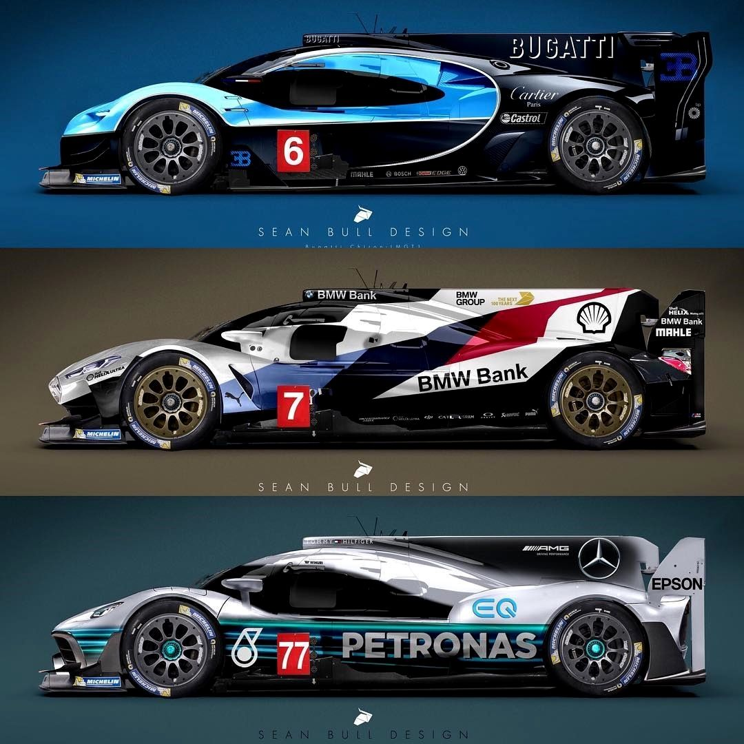 Sonax Amg Mercedes Clrp Lmp1: Bugatti BMW & Mercedes LMP-GT1 Is This The Sort Of Car