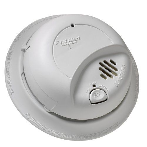 Brk Brands 9120b Hardwired Smoke Alarm With Battery Backup Single Individual From Contractor Pack Customerpackagetype Sta Smoke Alarms Battery Backup Hardwired