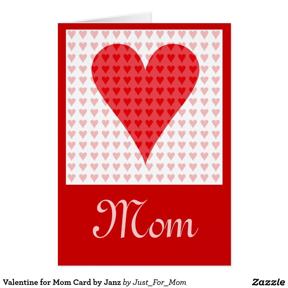 Valentine for Mom Card by Janz