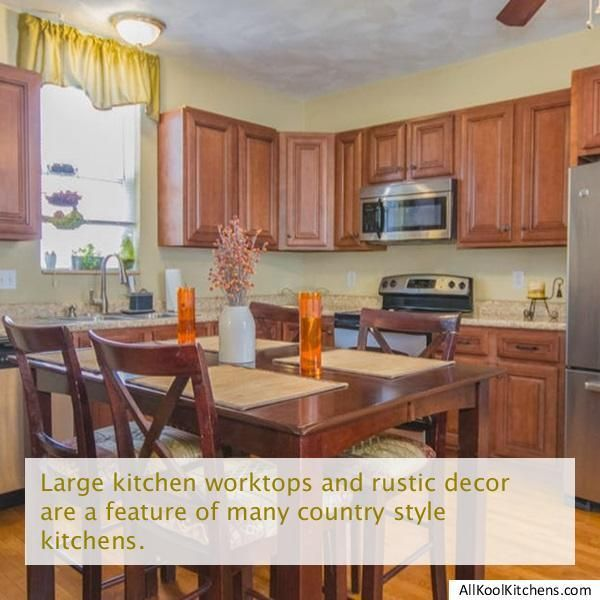Learn Kitchen Design: Click On The Link To Learn More Country Kitchen Designs