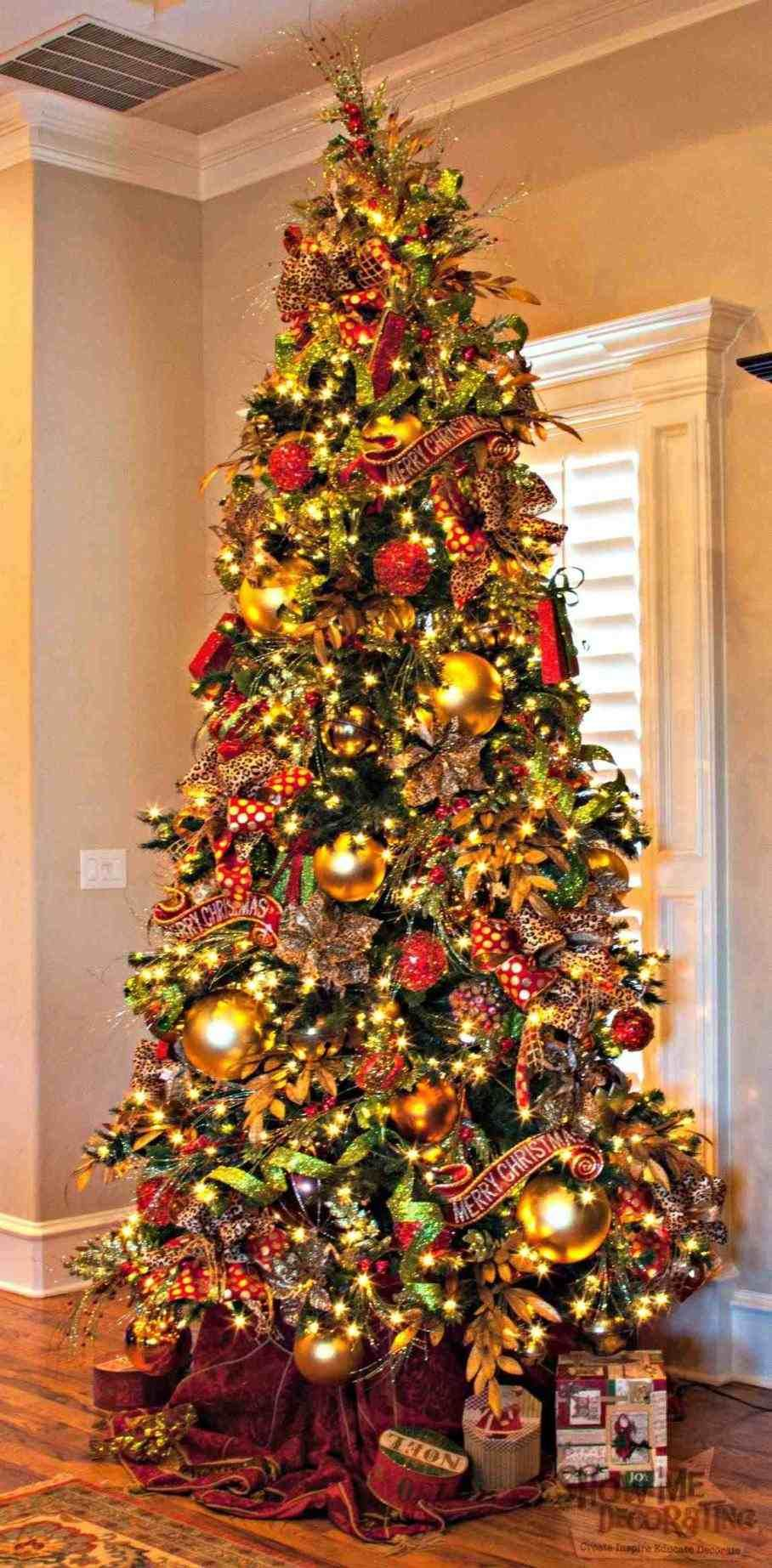 christmas tree new post christmas tree ideas red and silver - Christmas Tree Decorating Ideas Red And Silver
