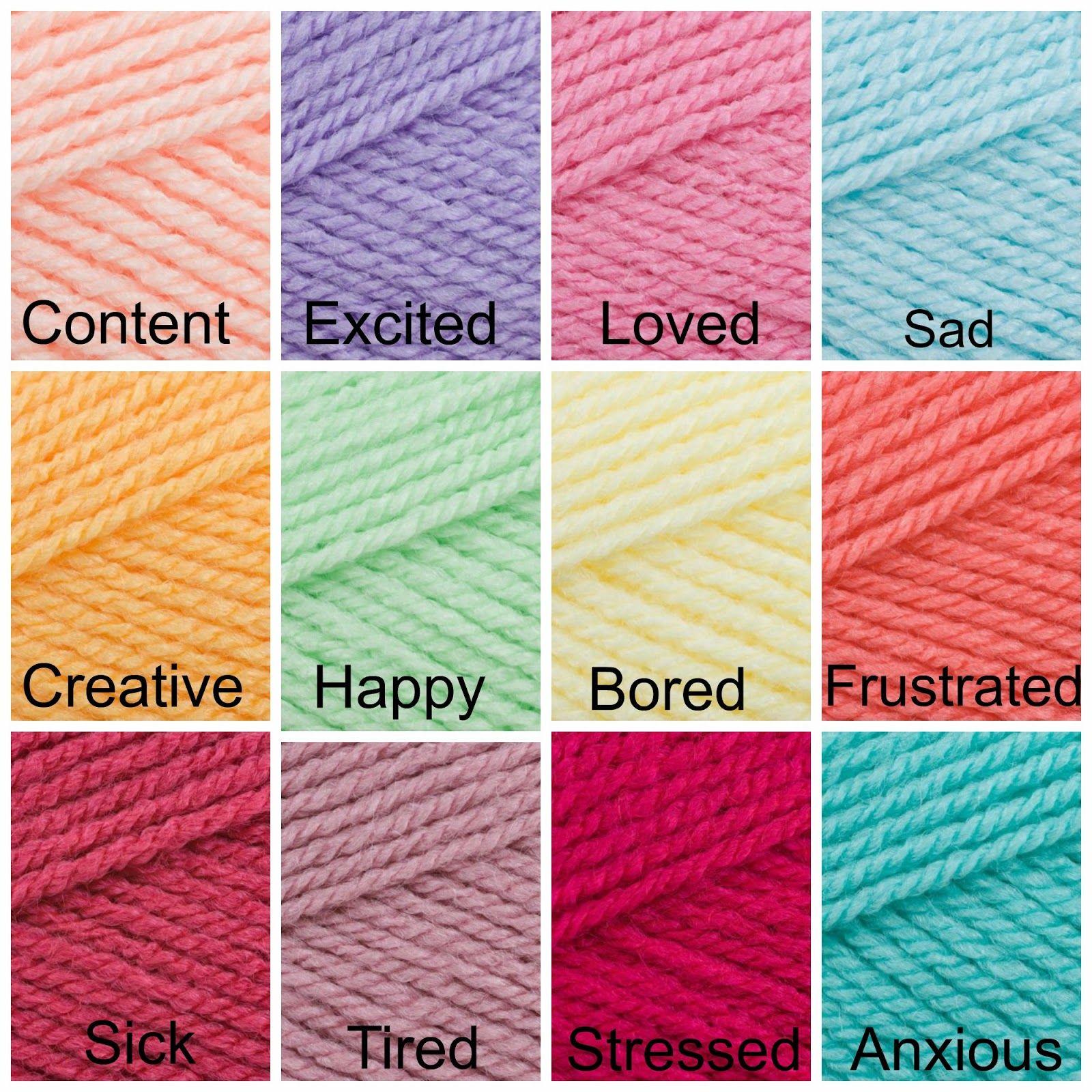 Stitch-a-llama: Crochet mood blanket challenge 2015   blanket galore ...