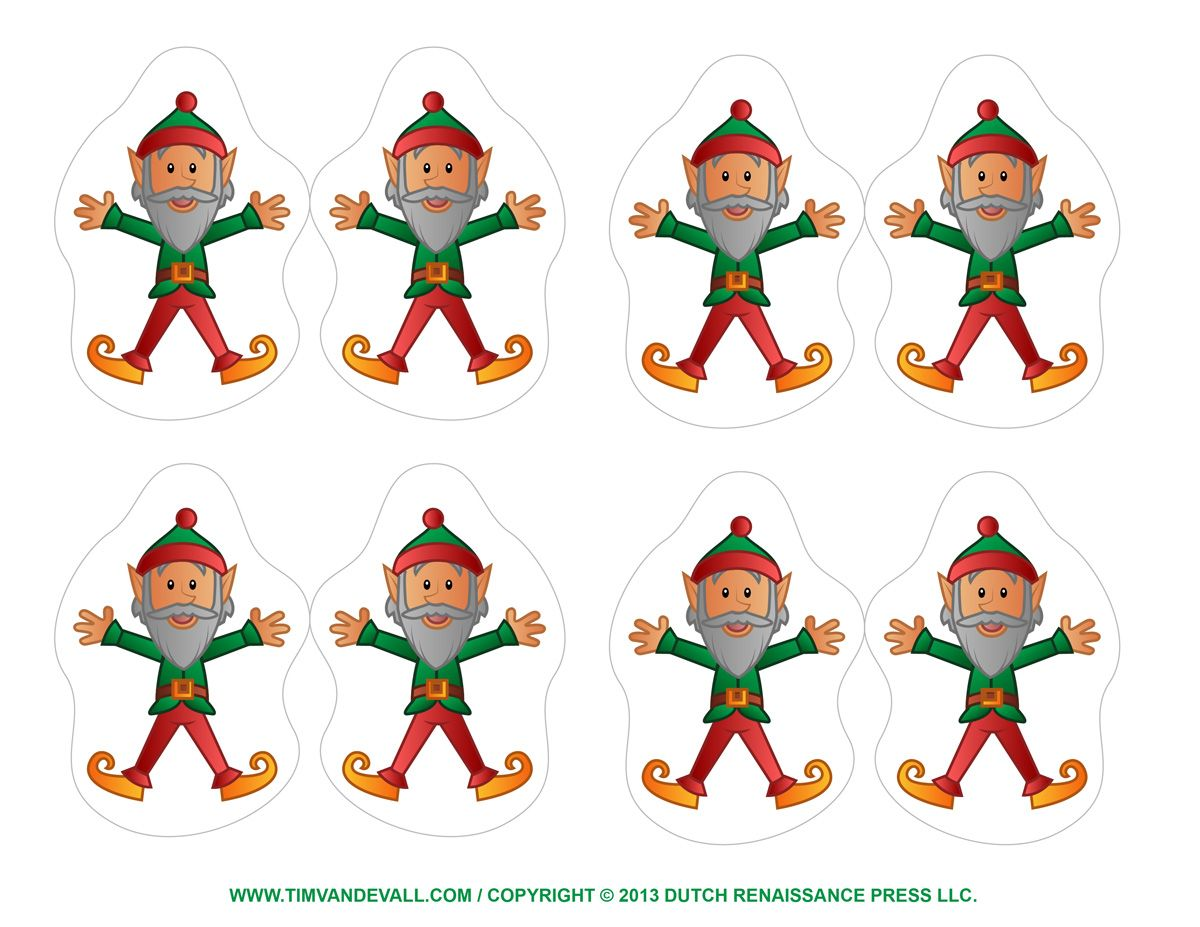 Http Timvandevall Com Elf Clipart Coloring Pages Printable Christmas Ornaments Christmas Printables Christmas Cutouts