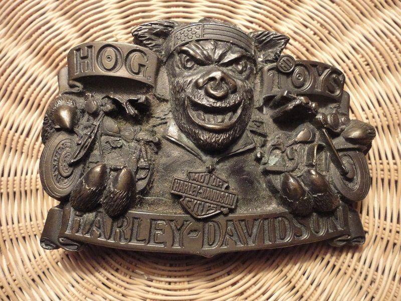 Rare Color Harley Davidson Hog Toys Belt Buckle Motorcycles Men S Heavy Brass Belt Buckles Harley Davidson Harley