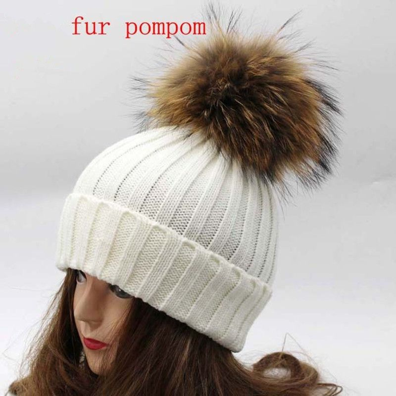 Oversized Real Big Raccoon Fur Earmuffs Lovely Personality Plush Fur Ear Cover Warm Girls Earflap Winter Profit Small Men's Earmuffs Men's Accessories