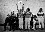 One of the Pulitzer Prize winning photos by Barbara Davidson featuring gangs violence in South Los  Angeles