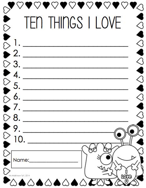 image regarding Kindergarten Packet Printable known as February Printable Packet - Kindergarten Literacy and Math