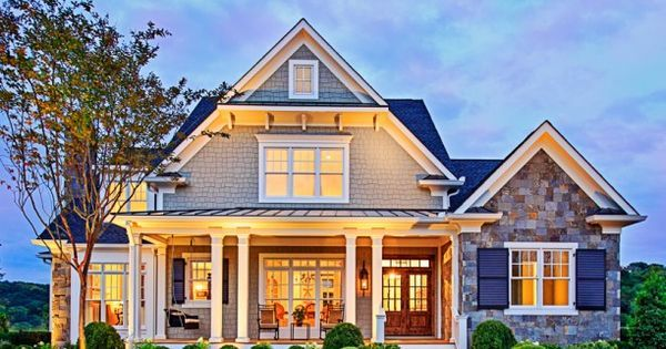 Craftsman house plans. Good ideas but would make changes | Love the look...ideas | Pinterest | House plans, Craftsman and Craftsman houses