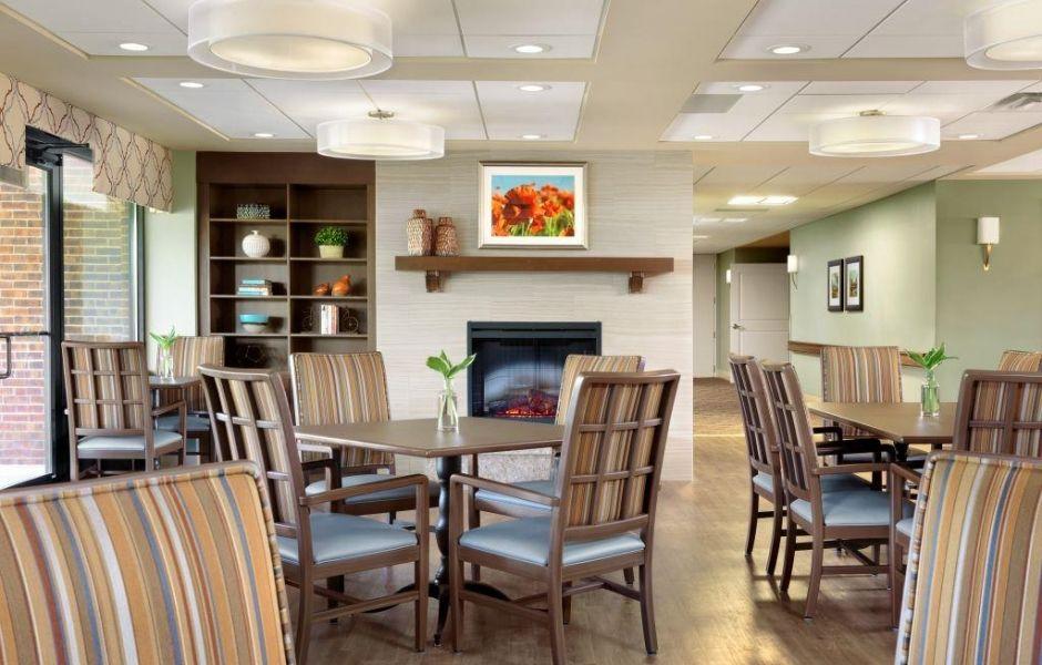 Senior Living Interior Design, Assisted Living Furniture